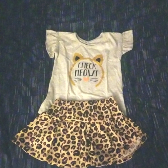 Baby Cat 2 piece Outift